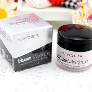 Wholesale- New MAYCHEER Base Makeup Transforming Smoothing Face Primer Cover Pore Wrinkle Lasting Concealer Foundation Base Magique