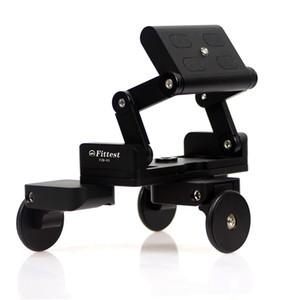 DSLR 카메라 / 휴대폰 MonkeyJack 접이식 세발 자전거 카메라 레일 자동차 표 돌리 자동차 비디오 슬라이더 Traker 1/4 스크류 마운트 플레이트