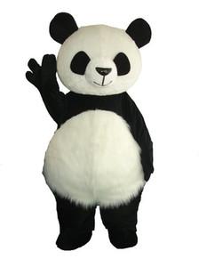 En gros Nouvelle Version Chinois Géant Panda Mascot Costume De Noël Mascot Costume Livraison Gratuite