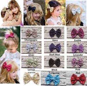 12 couleurs Filles pinces à cheveux hairbows en épingle à cheveux grand arc pinces à cheveux 12 * 9.5cm Baby barrettes pinces à cheveux filles