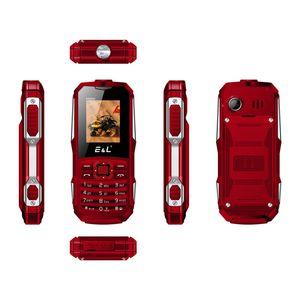EL K6900 клавиатура водонепроницаемый противоударный двойной SIM IP68 GSM клавиатуры мини-ключ старший телефон прочный телефон FM-радио мобильный телефон