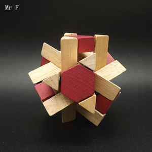 성인 3D 자기 나무 홍콩 명나라 잠금 중국 퍼즐 고대 지혜 루 금지 교육 크리스마스 선물 교육 장난감 교육 장난감