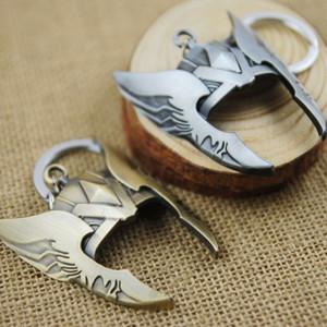 뜨거운 판매 Avengers 열쇠 고리 Thor의 헬멧 열쇠 고리 Marvel 영화 시리즈 열쇠 고리 제일 승진 선물 W961