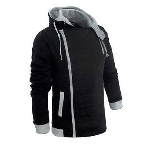 Men 's 지퍼 가을 겨울 패션 캐주얼 슬림 플러스 사이즈 카디건 어쌔신 크리드 후드 티 스웨터 아우터웨어 자켓 남성 슬림 풀 오버