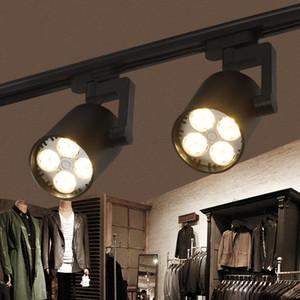 Mutfak Sabit Giyim Ayakkabı Mağazaları Mağazaları Track Aydınlatma için 2pcs / lot LED Parça Işık COB 35W Tavan Raylı Işıklar spot