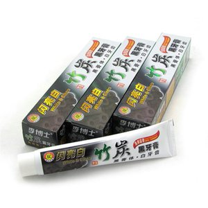 charcoal toothpaste whitening black white&clean Bamboo carbon black toothpaste 100g white teeth Clean teeth whitening Pure and fresh