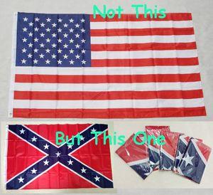 NEW 90x150cm American Flag 100% poliestere usa Confederate Flag Battle Flag USA Confederate Rebel Flag