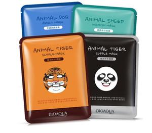 BIOAQUA 1 pcs Soins de la peau Mouton / Panda / Chien / Tigre Masque Facial Hydratant Masques Faciaux