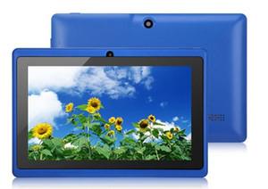 """Q88 Q8 7 """"Pulgada Android 4.2 A33 Quad Core Tablet PC Cámara dual 4GB 512MB Capacitivo Rosa Negro Blanco Tabulador"""