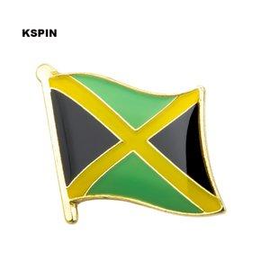 Trasporto libero il perno della bandiera distintivo della bandiera del metallo della Giamaica KS-0197