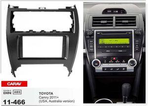 CARAV 11-466 car 2DIN fascia facia panel plate frame for TOYOTA Camry (USA-version) Stereo Fascia Dash CD Trim Installation Kit