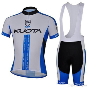 2015 KUOTA Cycling Jerseys Set Bicicleta corta Camisa transpirable de secado rápido Medias superiores Traje Ropa Ropa verde rojo azul púrpura