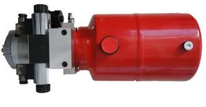 Высокое качество производства 12VDC малый шестеренчатый насос гидравлический силовой агрегат для логистического оборудования двойного действия