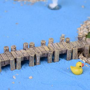 10 قطع العالم الصغير بونساي الجنية حديقة منزل صغير زخرفة المشهد الديكور مصغرة جسر دمية تررم المنمنمات المنزل