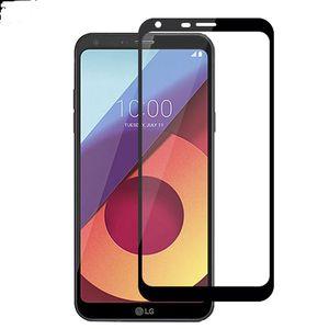 LG 전자 K20 플러스 LG Stylo 3 공물 HD Q6 강화 유리에 대한 Aristo 화면 보호 필름에 대한 전체 커버 단련 된 유리