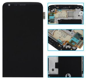 G5 ЖК-Дисплей Сенсорный Экран Digitizer Ассамблеи Для LG H820 H831 H840 H850 VS987 LS992 Оригинальные Запасные Части С Рамкой