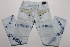 Livraison Gratuite 2016 Hommes jeans, Mode Haute Qualité Hommes Jeans, Hommes Mode Robins Denim Jeans hommes, Minceur jeans de conception Taille: 30-42 Hot