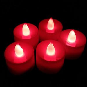 무료 배송 낭만적 인 화려한 빛을 발광 LED 촛불 전자 촛불 촛불을 구걸하는 고백 촛불 생일 축하 결혼식