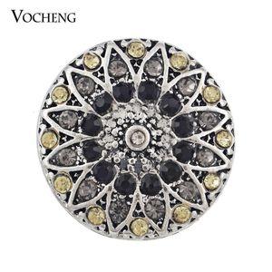 Vocheng Noosa Crystal Snap Charms 진저 스냅 쥬얼리 교환식 보석 액세서리 (Vn-182)