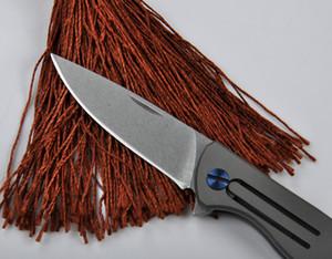 Alta qualidade D2 mini titanium clasp colher Bing acampamento ao ar livre faca de caça faca espada presente faca frete grátis 1 pcs