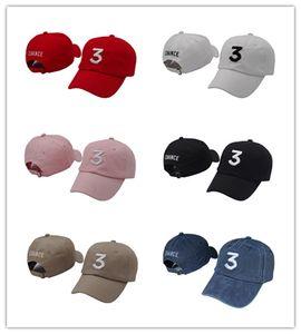 Buena venta Envío gratis Chance 3 the rapper caps Streetwear kanye west papá carta cap Gorra de béisbol libro de colorear 6 sombreros de panel para hombres mujeres