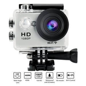 Nova 2 polegada W9 Câmera de Ação Wifi 30 M Esporte DV À Prova D 'Água 30 M Câmera de Mergulho W9 COMS HD 1080 P 170 Graus Câmeras De Vídeo Ao Ar Livre