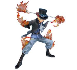 Anime One Piece Sabo quinto aniversario en caja de PVC figura de acción de colección modelo de juguete tamaño en 15 CM envío gratis