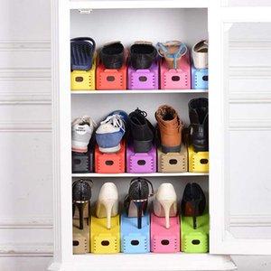 Vente en gros Non Réglable À La Maison Utilisation Range-Chaussures Moderne Double Nettoyage Chaussures De Rangement De Nettoyage Rack Salon Pratique boîte à chaussures Organisateur Stand étagère