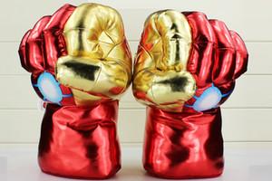 Guantes hombre de hierro de la felpa los 30cm * 20cm El Vengadores Iron Man 3 Cosplay Guante Adulto felpa rellena juega el envío libre