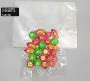 Heißsiegel Sealer transparen / klar vakuum plastiktüte Lebensmittel samen lebensmittelgeschäft Kompositverpackung paket beutel 12 * 18 cm 100 stücke 0,16mm