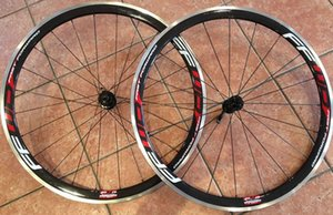 Ffwd Alloy Carbon Fiber Racing Fahrrad-Räder Wheelset 38mm Felgen 3k Glanz / Matt-Finish Aluminium-Brems