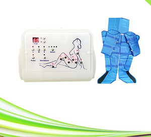 Presión de drenaje linfático portátil presoterapia presoterapia aire compresión pierna presión de aire masajeador para adelgazar