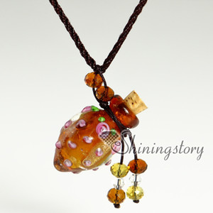 essential oil jewelry murano glass aromatherapy locket wholesale pendant necklaces vintage perfume bottle pendant necklace necklace vials fo