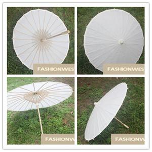 Kağıt Şemsiye DIY Şemsiye Kağıt Şemsiye Boyama tarafından Sıcak Beyaz ve DIY Şemsiye Moda El Yapımı Şemsiye