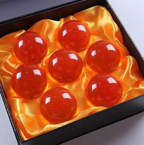 50set / lot DragonBall 7 étoiles Crystal Ball In Box ensemble de 7 pcs Dragon Balls ensemble complet Livraison gratuite