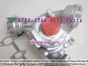 GT1646V 765261 765261-0005 756867 756867-0002 Turbo Turbocompressore per AUDI A3 VW Golf Jetta Passat B6 Superbo 2 Toledo 3 Leon BMP BMM BVD 2.0L