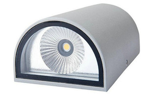 Lámpara de pared de 10W Lámparas de pared LED de iluminación de baño de jardín de LED IP65 Lámpara de pared LED UP UP Luz de pared de agua