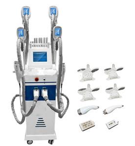 4 grosse poignée de congélation Ultrasons Vide cellulite réduction lipo laser poids perte salon équipement graisse gel machine de beauté