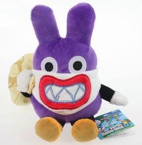 """Super Mario Bros Thief Nabbit coelho de pelúcia boneca brinquedos Com Tag Retail Aproximadamente 7,5"""" 19 centímetros caçoa o presente"""
