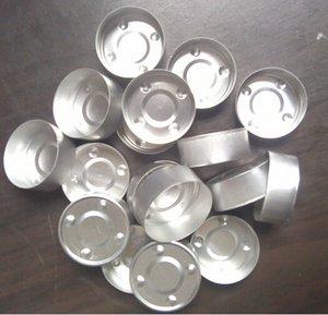 Lo nuevo de la llegada- candelabro de aluminio tealight vela taza de bajo precio, pero vela de alta calidad taza de vela candelita tazas de metal taza de vela