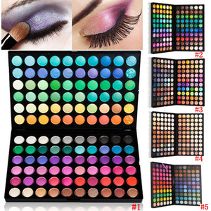 Wholesale- New Fashion Professional 120 Full Color  Cosmetic Kit Eye Shadow Palette HB88