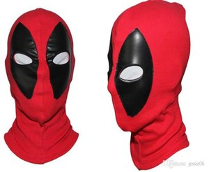Deadpool Mask JLA Balaclava Halloween Costume party Cosplay X-men hooded cap adults children Hat easter horror flim cartoon Full Face Mask