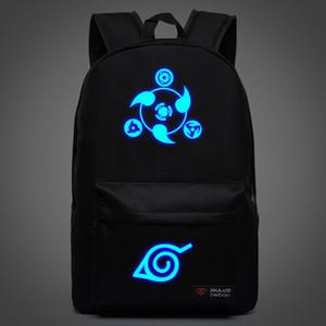 مدرسة الشحن الصبي hokage حقيبة الظهر الحرة قماش ninjia حقائب جديدة للمراهقين الرياضة فتاة اليابانية أنيمي ظهر naruto giewu