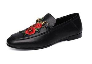 새 드레스 신발 꿀벌 자수 웨딩 신발 디자이너 Quinceanera Evening Prom zapatos de novio 크기 : 6.5-9 332