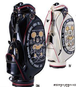 2018 mode hommes femmes mode ours sac de golf vente limitée garçon garçon balle sac de balle livraison gratuite stand lumière pu cuir club panier sac