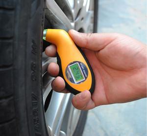 LCD Digital Tire Gauge Presión de neumáticos Lámpara de mesa Quasi LED Electrónica Digital Gauge Presión de neumáticos PSI BAR KPA KGF / CM2