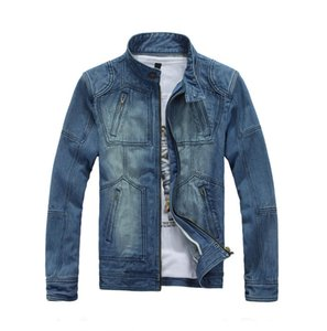 Men Fashion Denim Jackets Male Casual Bomber Jacket Mens Hip Hop Man Retro Denim Jacket Jacket Streetwear 2020