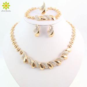 Set di orecchini da donna con orecchini placcati in oro 18 carati africani da donna