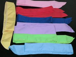 100PCS 순수한 색 목 머리띠 얼음 수건 여름 물 멋진 스카프를 냉각 스카프 쿨러 수건을 냉각