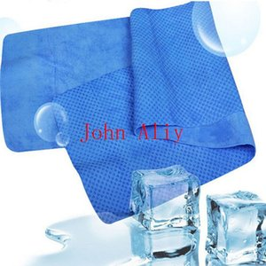 HOT sale 100Pieces Ice Towel 80*34cm Cold Towel Exercise Sweat Summer Sports Ice Cool Towel PVA Hypothermia Cooling Tow